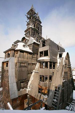World's tallest log cabin