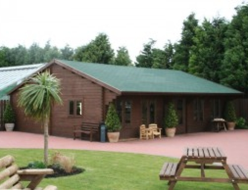 View a Keops Log Cabin in the North of England