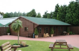 Visit Stannington Log Cabin in the North of England