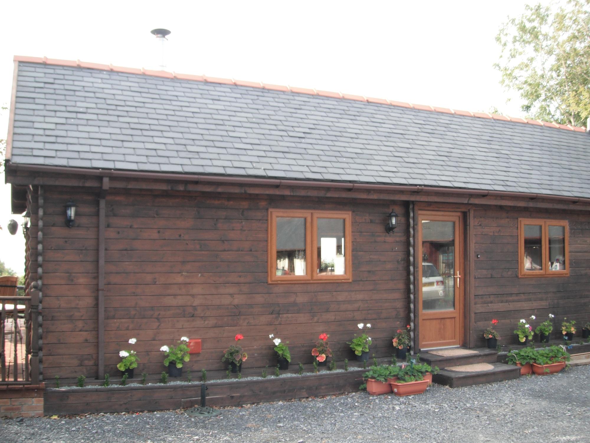 Keops 6 x 14m log cabin