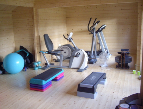 Building a home gym in your garden