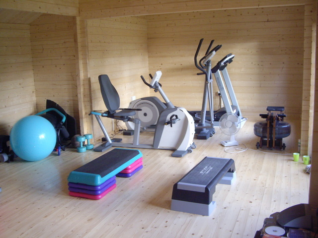 Gym 39 Ll Fix It Log Cabin Home Gyms