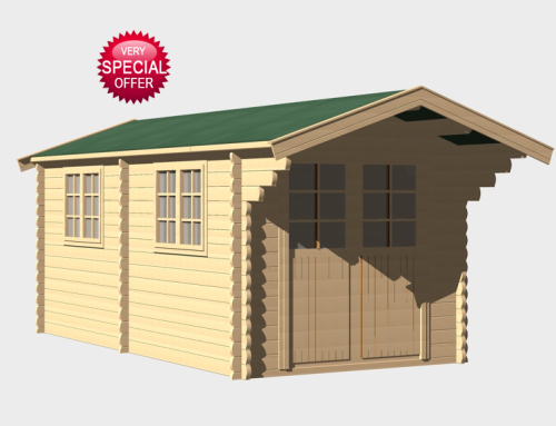 Sale! A one off Keops log cabin at a very, very special price
