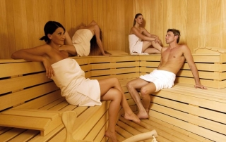Keops Interlock log cabin sauna