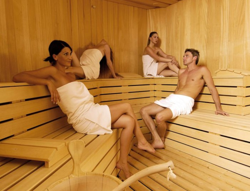 Get a sauna and improve your wellbeing, health and fitness