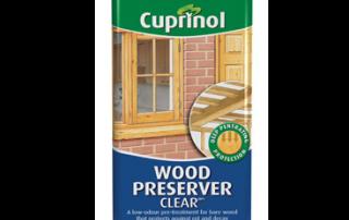 cuprinol clear wood preserver