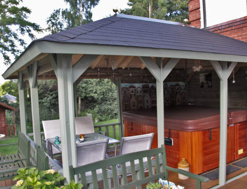 Enjoy the summer with a fabulous new veranda