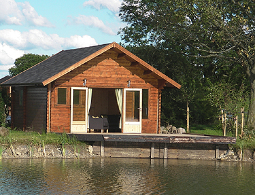 The new Forest Lodge at Blackthorn Fisheries