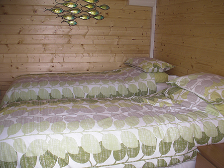 Spacious double or twin bedroom