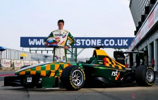 James Calado (GBR) Lotus ART Racing Steps Foundation