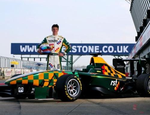 Keops are proud to sponsor Formula 3 racing driver James Calado