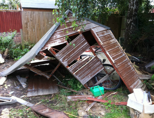 Nearly new shed for sale on Ebay