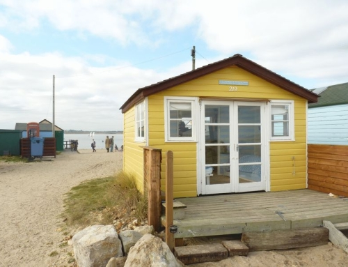 Your very own beach hut for £126k…or less