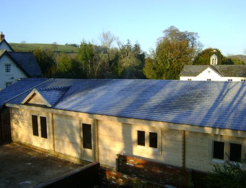 New Tapco imitation slate roof tiles
