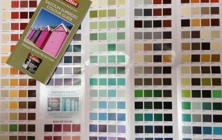 New Sadolin Superdec colour chart