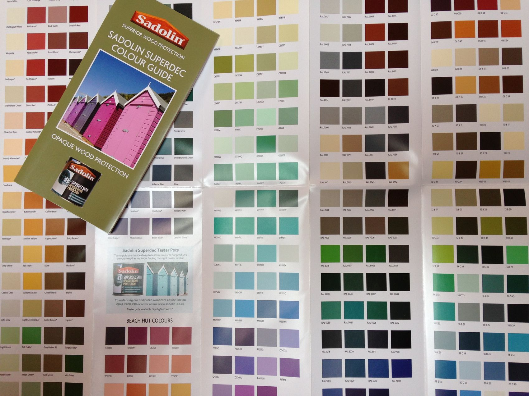 Sadolin paints colour chart crowdbuild for - Exterior wood paint colours uk concept ...