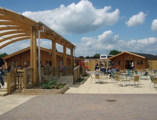 Keops supply 3 log cabins for £27m world class visitor attraction