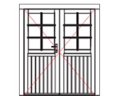 VDD12 comfort double door