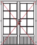 VDD34 comfort double door