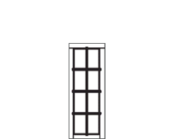VRL narrow window panel