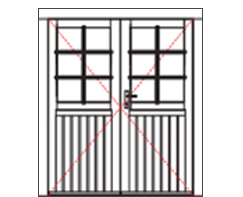 WDD12 Premium double door