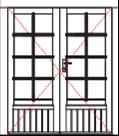WDD34 Premium double door