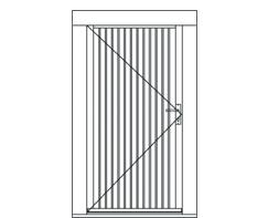 WDE00X Premium solid door