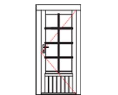 WDE34 Premium single door
