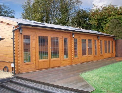 Mr Billing's cabin