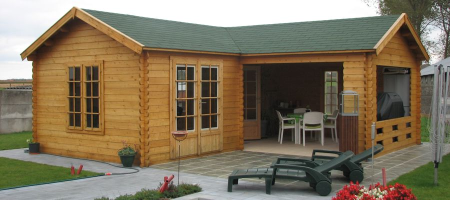 Keops Classic Style Log Cabins Keops Interlock Log Cabins