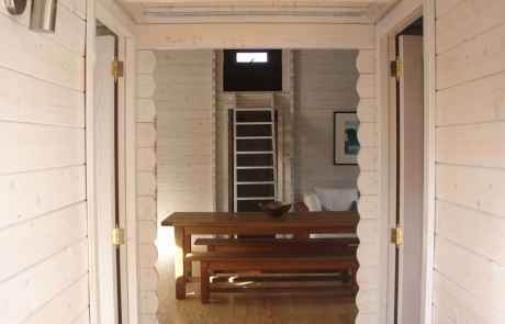 Internal rooms and interior doors