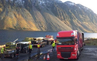 Keops delivery for the National Trust to Cumbria