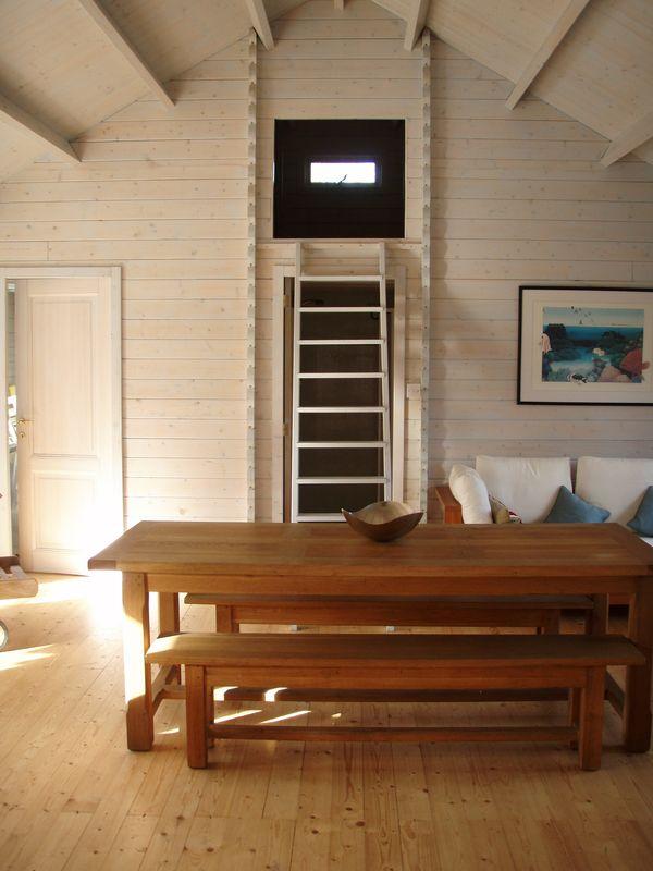 Loft space in Evesham log cabin