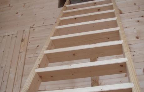 Loft access ladder