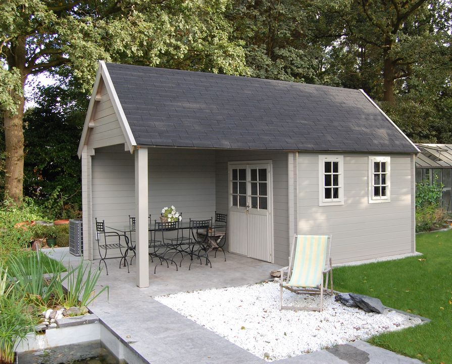 cottage muir with canopy and post