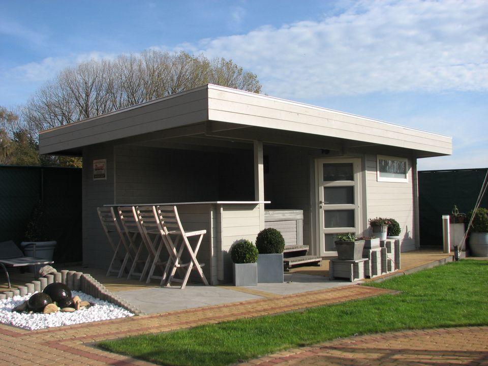 moderna obrien log cabin for leisure