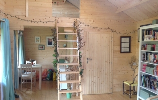 Loft access and ladder