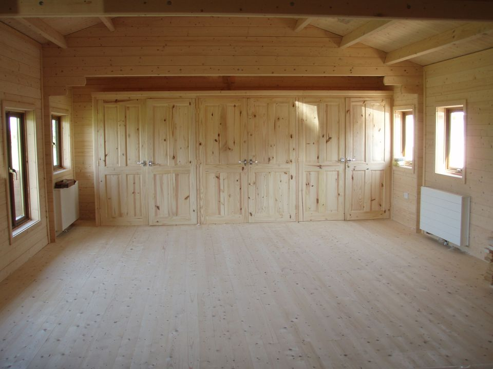 Large area with storage