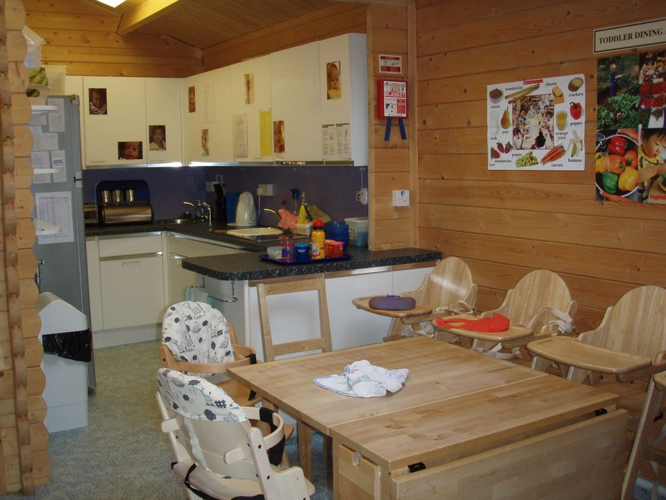 Nursery day care kitchen