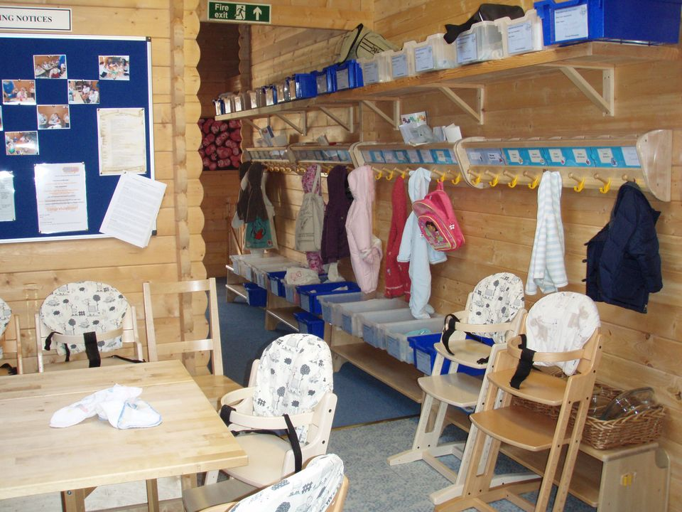 Children's Nursery cloakroom