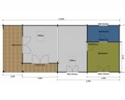 Nightingale mobile home/caravan floor plan