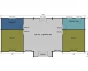 Redshank mobile home/caravan plan