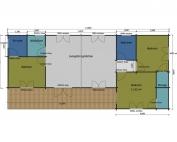 Hobby mobile home/caravan floor plan