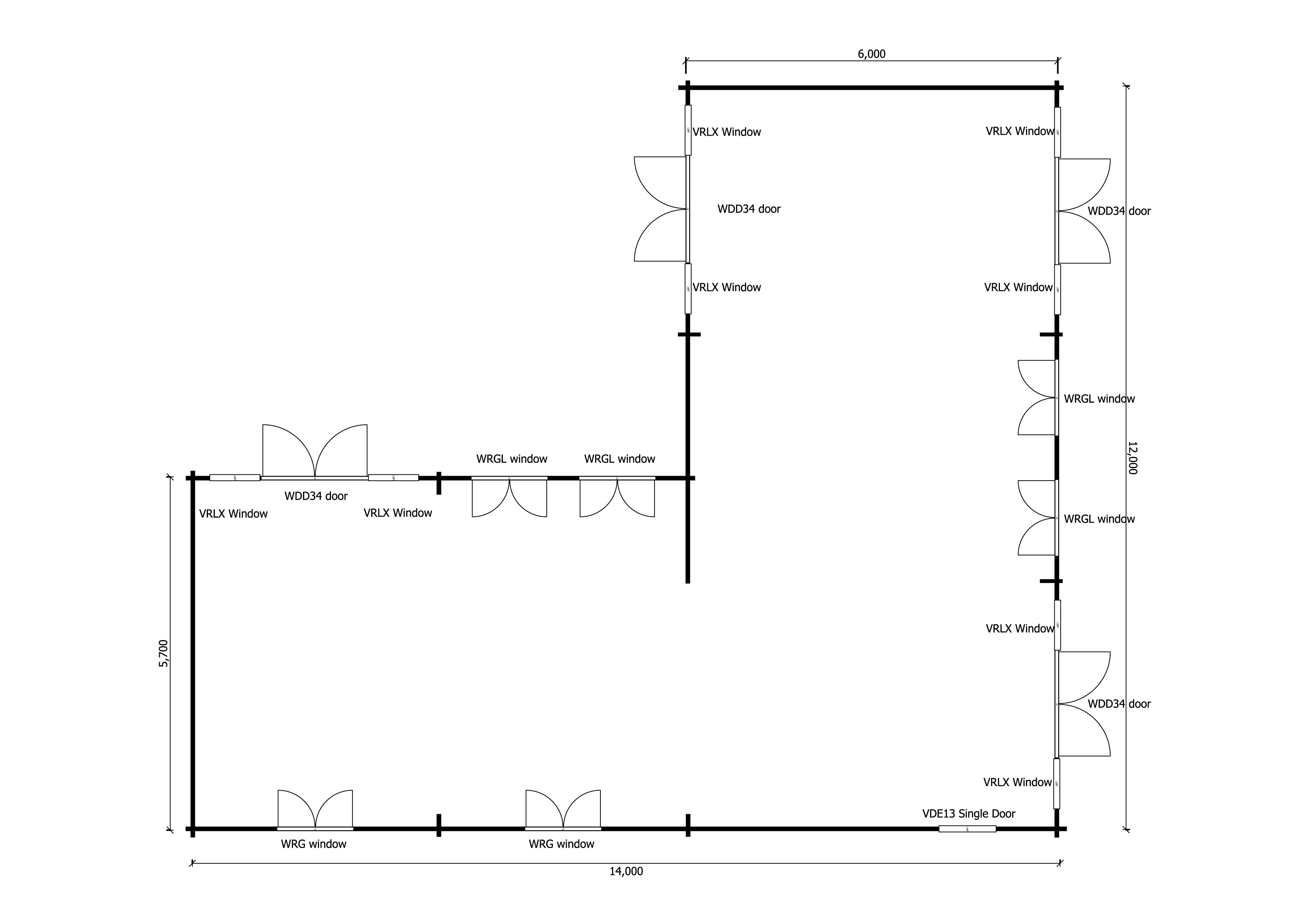 Nursery cafe floor plan