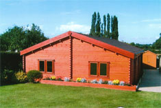Keops Classic style snooker log cabin