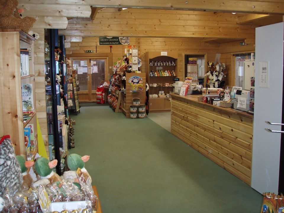 Visitor centre and shop