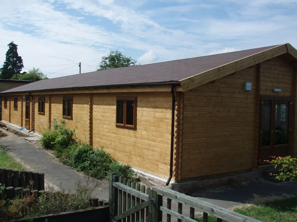 New school building in Gloucestershire