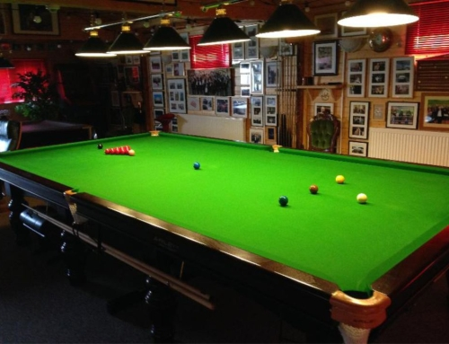 Mr. O's snooker room