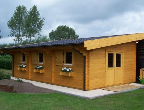 Mr Baird's cabin
