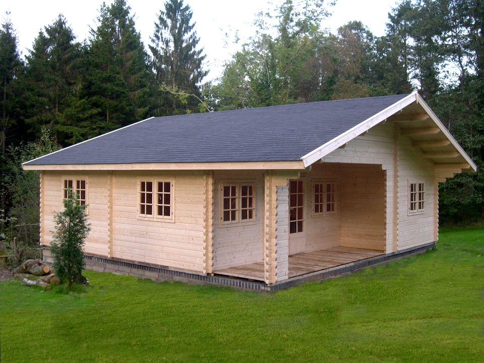Bakewell Classic apex roof log cabin